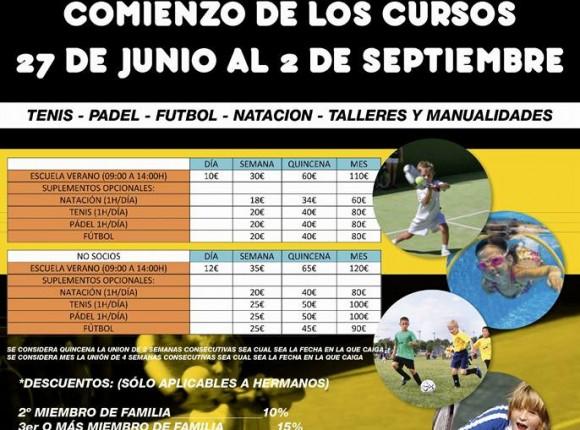 Escuela de Verano 2016 Club Los Llanos