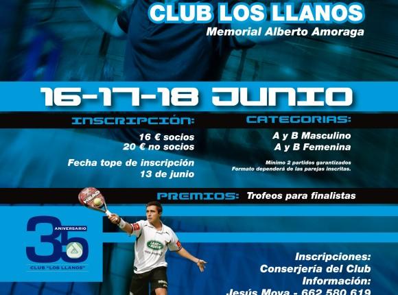 XI Open Pádel Club Los Llanos.